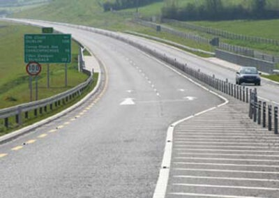 RISK & STAR RATING OF IRELAND'S MAJOR ROADS: EURORAP 2008 RESULTS