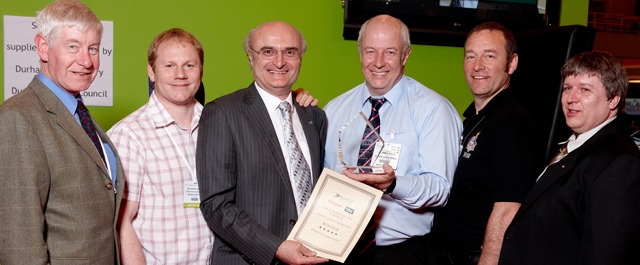 DURHAM COUNTY COUNCIL WIN TEC, SURVEYOR AND EURORAP PASSIVE SAFETY AWARD 2009