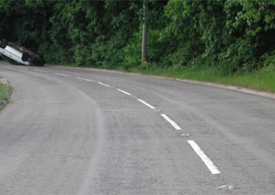Accidents on rural roads – single carriageway a class